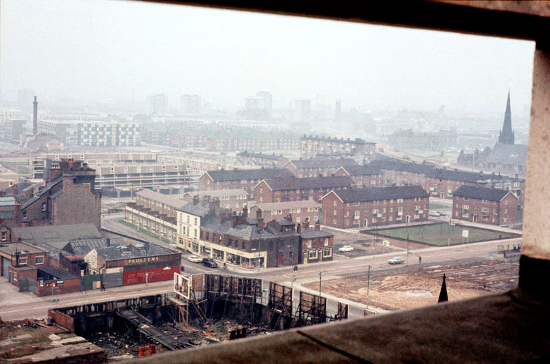 Photography of North Hulme in 1970