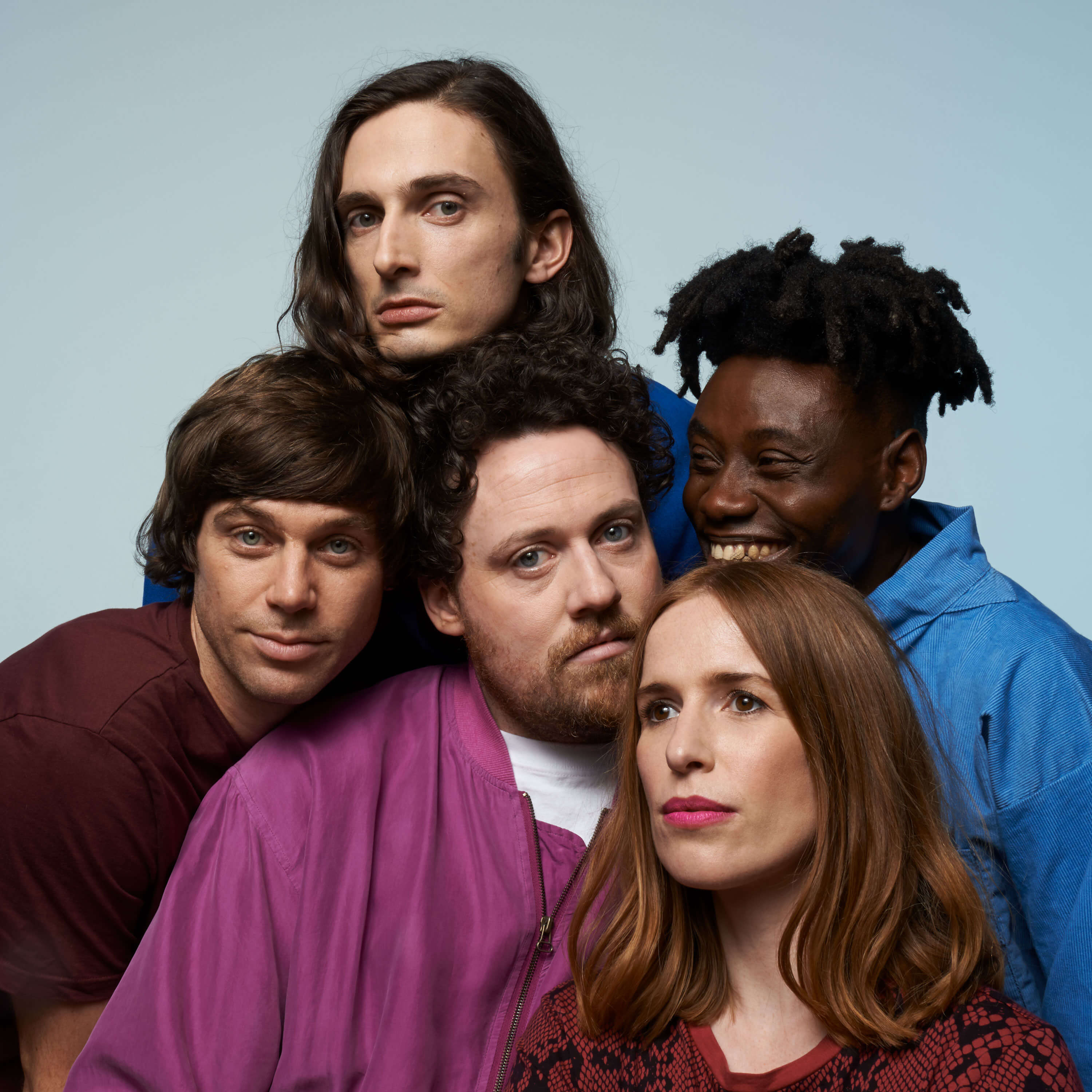 Photograph of Metronomy who are part of Back to Our Roots.