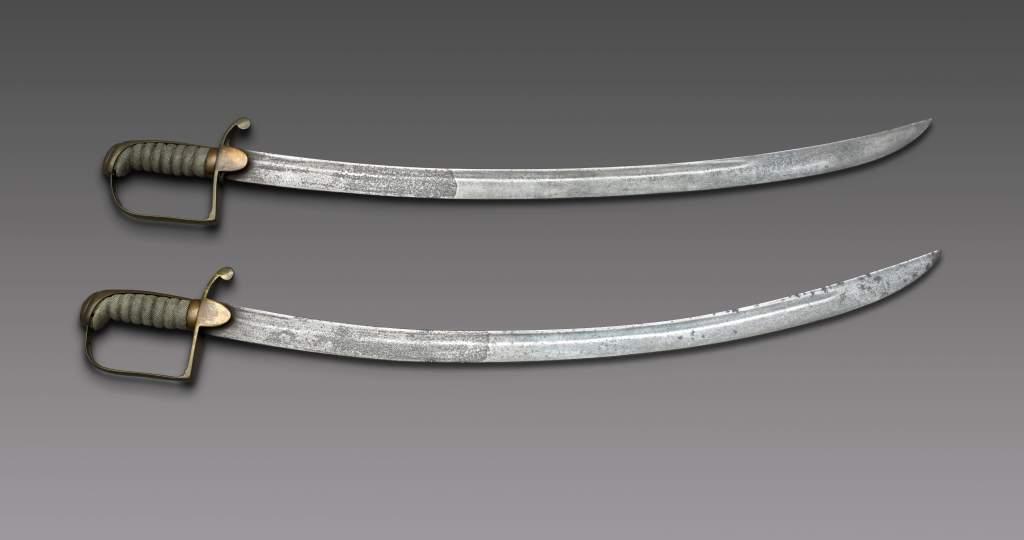 Peterloo sabres displayed in People's History museum