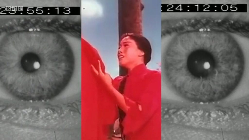 Still from Adam Curtis's Can't Get You Out of My Head