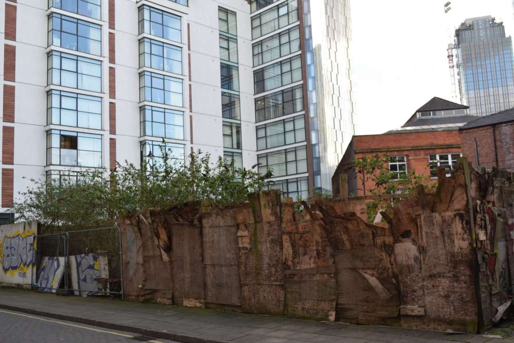 Contrasting new and old in Manchester