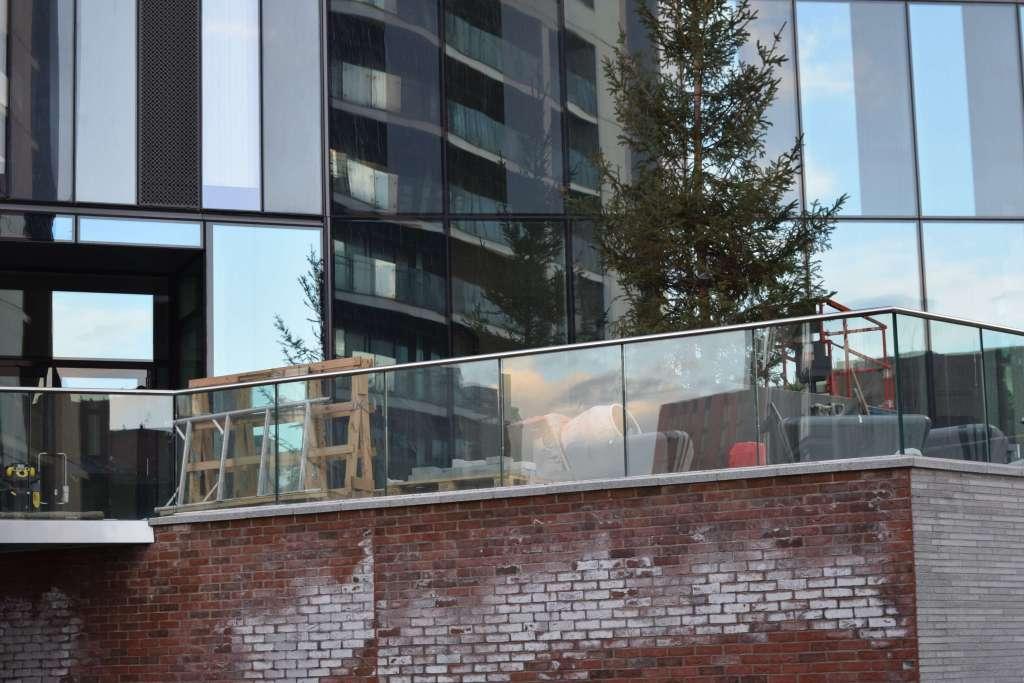 Deansgate Square under construction